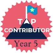 Top Contributor | Year Five
