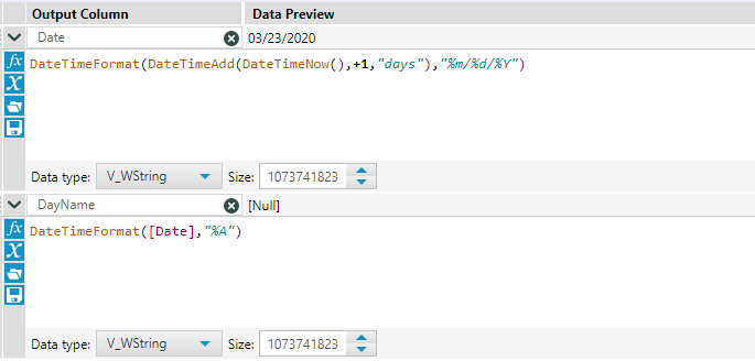 Solved: convert todays date into the day name - Alteryx Community