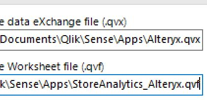 Qlik Sense error code 1 - Alteryx Community