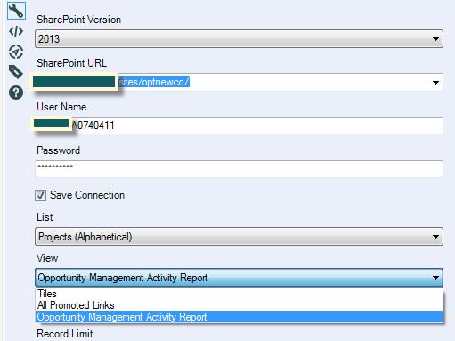 Solved: Sharepoint List Input | Alteryx 11 7 Views not pop