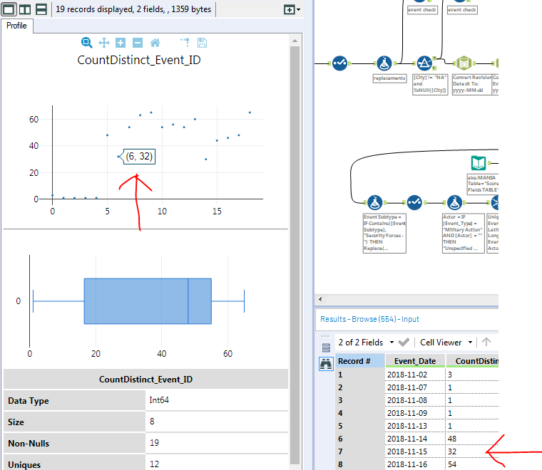 Browse tool plots record index at 0, not 1? - Alteryx Community