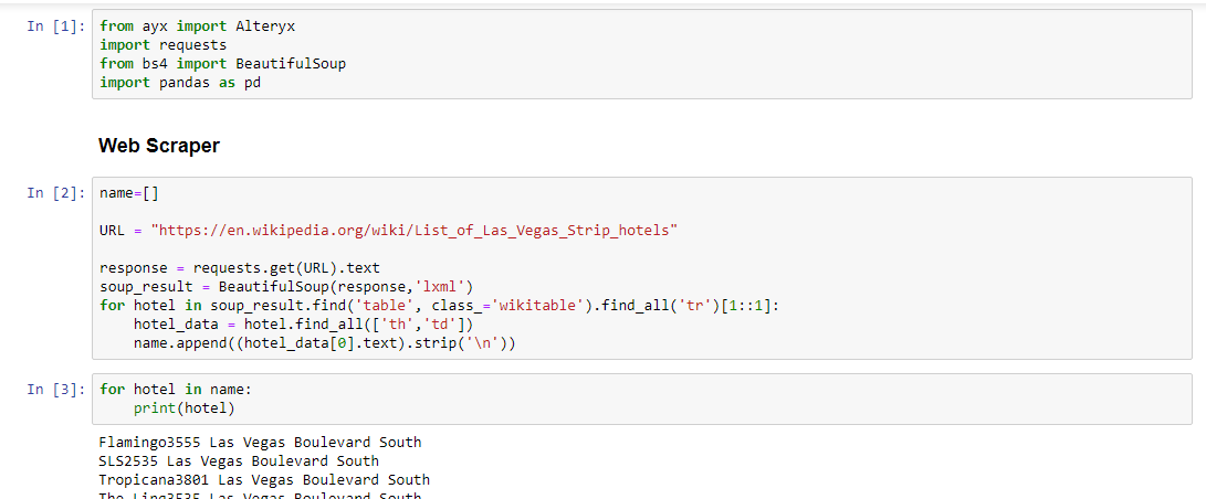 Solved: Parsing HTML with Python Tool - Alteryx Community