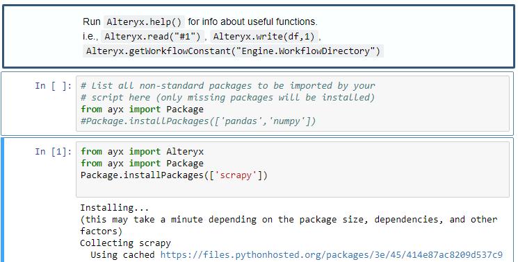 Python tool error - Alteryx Community