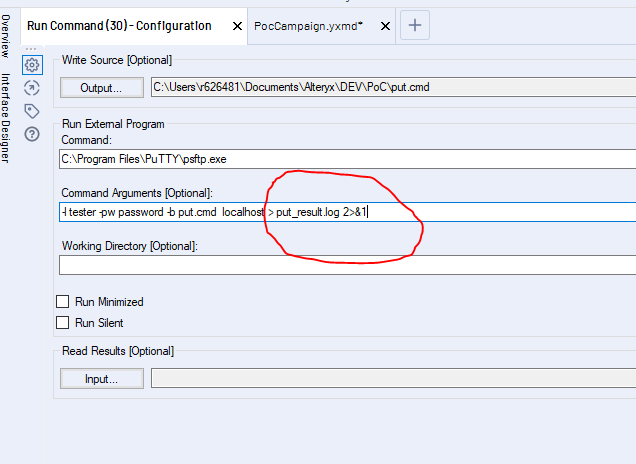 Capture Standard Output and Standard Error From Co
