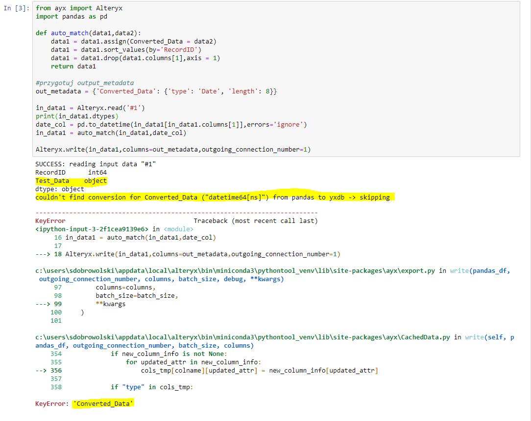 Python tool - metadata management problem - Alteryx Community