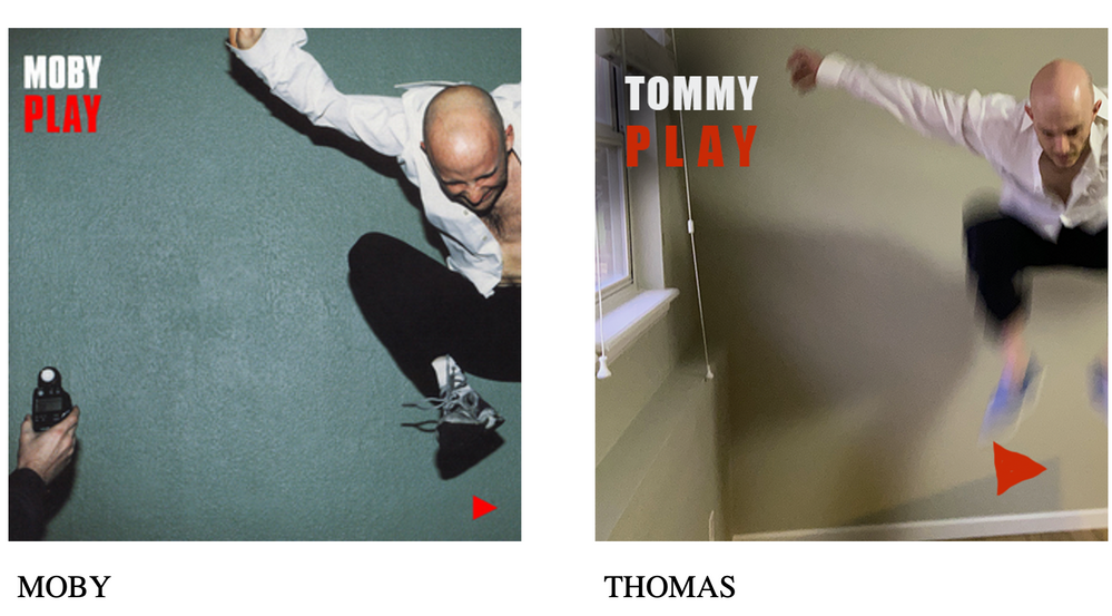 Thomas, my partner, is bald -- so obviously he got recruited to play Moby