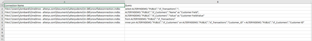 Query File Example