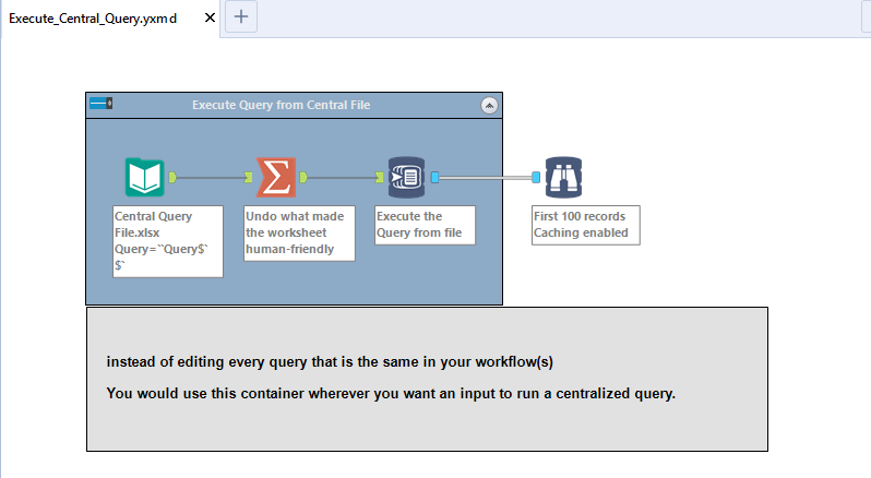 Execute Query File