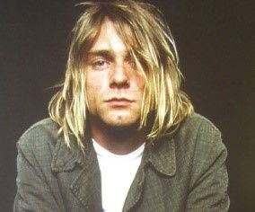 Nevermind... it's Kurt Cobain