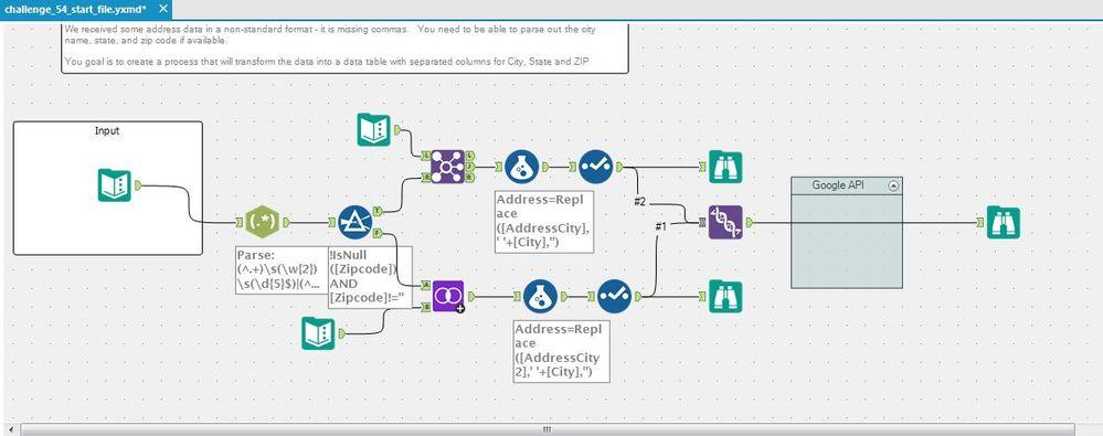 Address Parse Workflow
