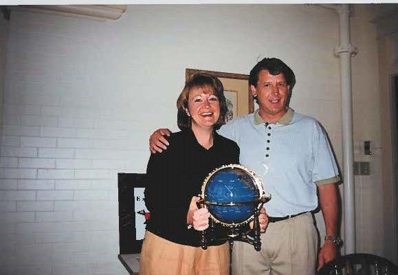 Dean and I at our first company conference, Extend, in 1998 (now known as Inspire)