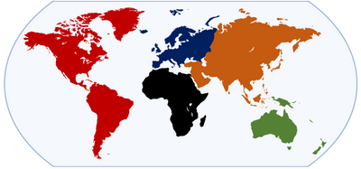 how many continents