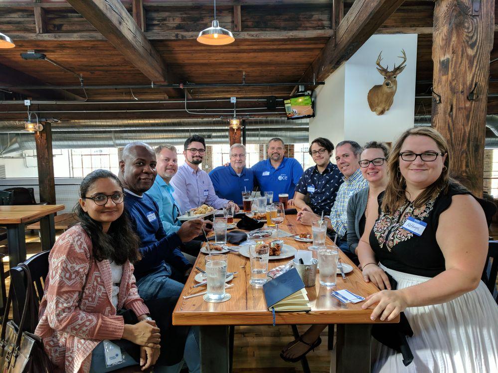 Inaugural Greensboro Alteryx Users Group at Nattie Greenes.jpg