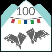 100 Solutions Badge - Lhotse Face