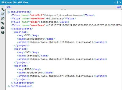 Config XML