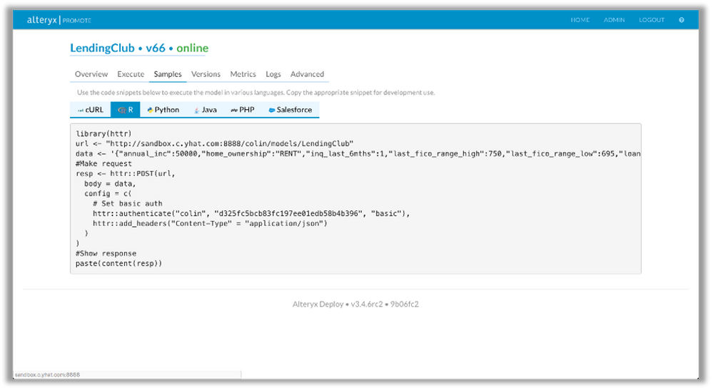 No more writing custom code- The REST API generates code in R, Python, Java, PHP, Salesforce