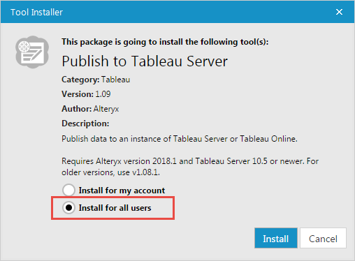 Publish to Tableau Server install.png