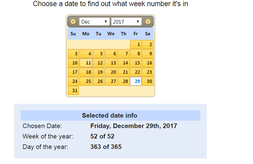 Solved Convert Date To Week Number Of That Year Alteryx Community