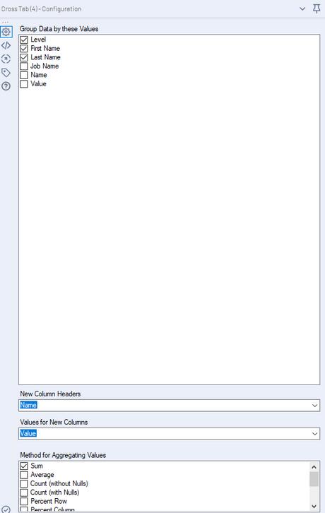 second tool (cross-tab)