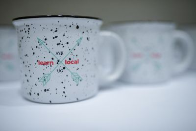 #LearnLocal ceramic mugs