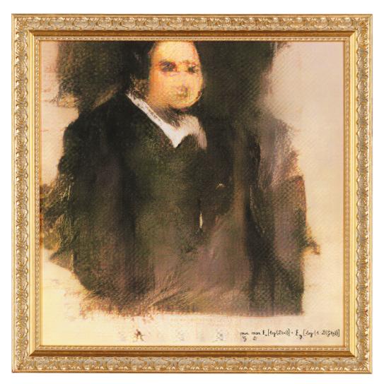 Portrait of Edmond de Belamy, 2018, Obvious
