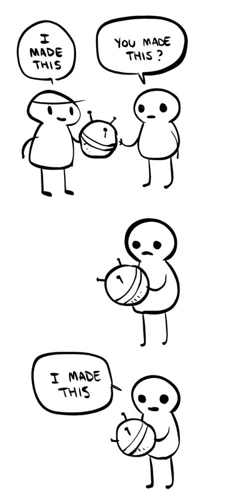 The Internet by Anthony Clark: https://nedroidcomics.tumblr.com/post/41879001445/the-internet