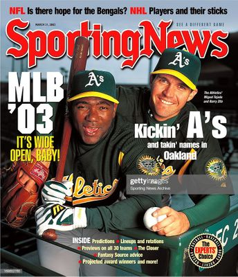 Talk of the baseball world: the 2003 Oakland A's