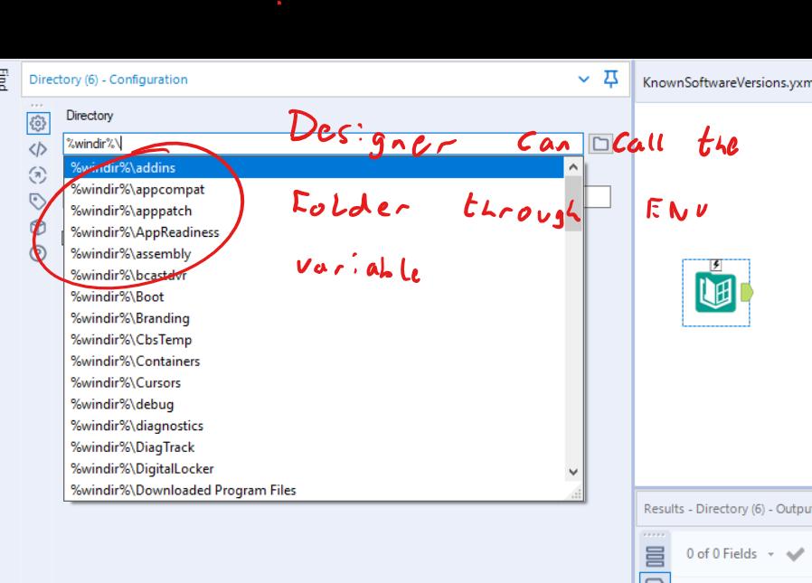 Screenshot 1 - works in designer