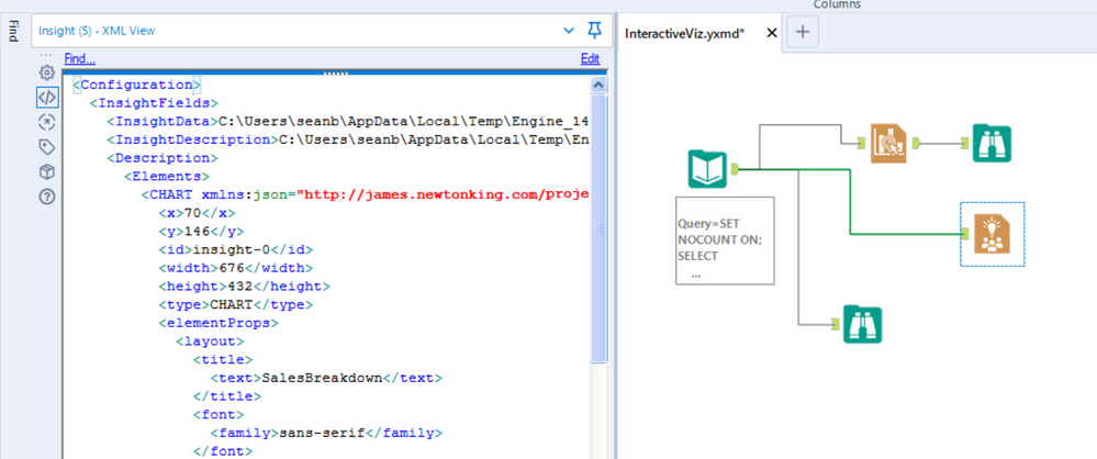 You can see here that there is configuration already (looking at the XML)