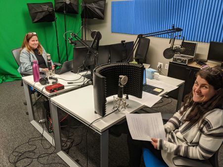 Our podcasters, @TaraM and @AmyH