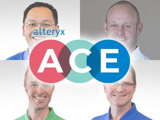Four ACES representing Alteryx Worldwide comment on the Alteryx ACE Program and share their opinions about what it means to be an Alteryx ACE