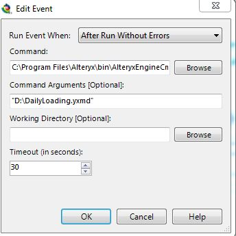 one module to execute another module - Alteryx Community