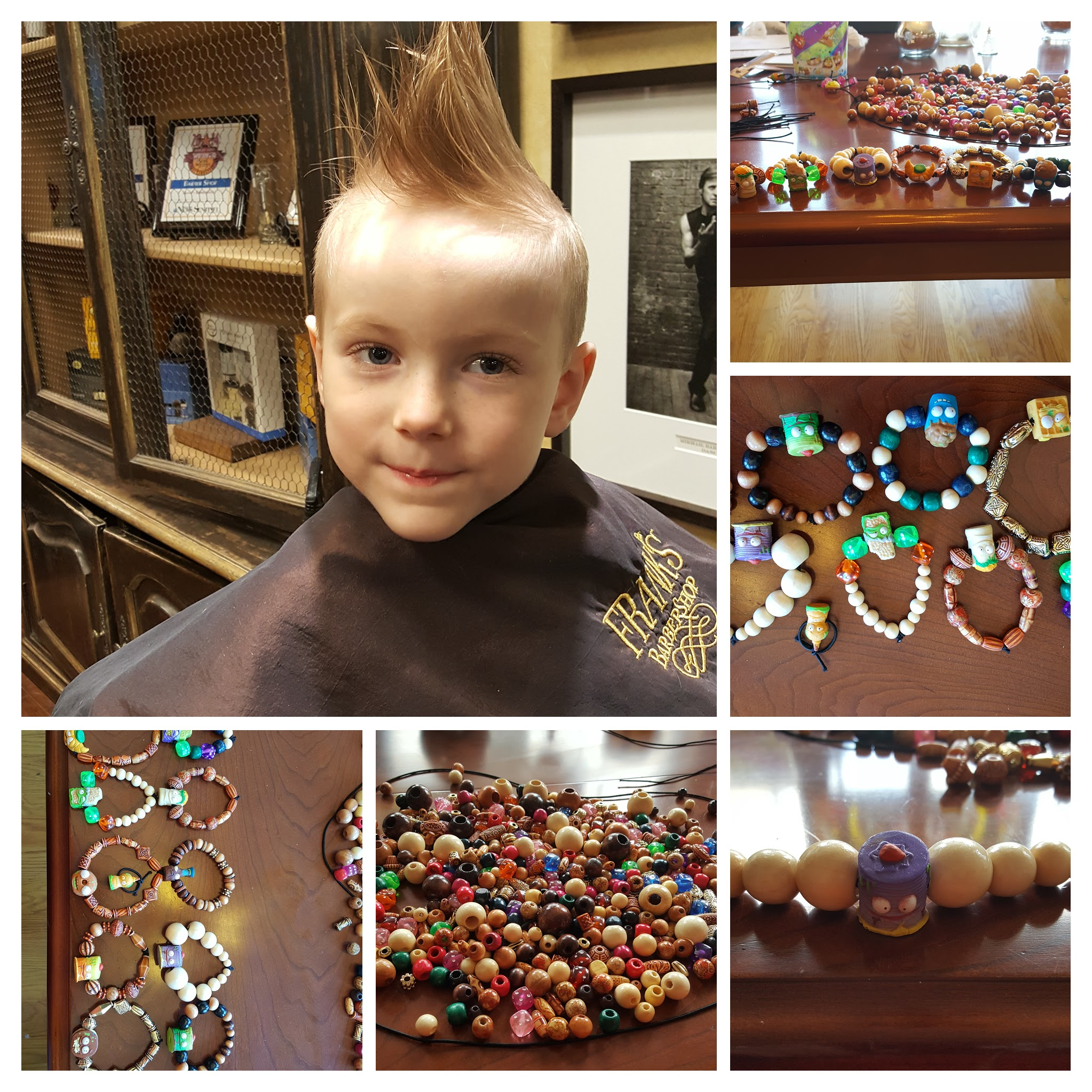Jett and his Grossery Gang bracelets for charity