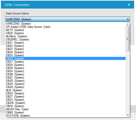 Solved: ODBC - Missing DB2 Data Sources - Alteryx Community