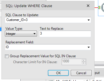 Solved: Using values from a spread sheet to query SQL serv