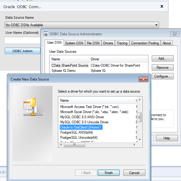Oracle ODBC driver location? - Alteryx Community