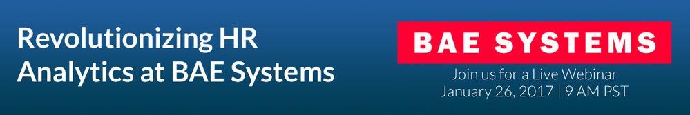 Revolutionizing HR Analytics at BAE Systems