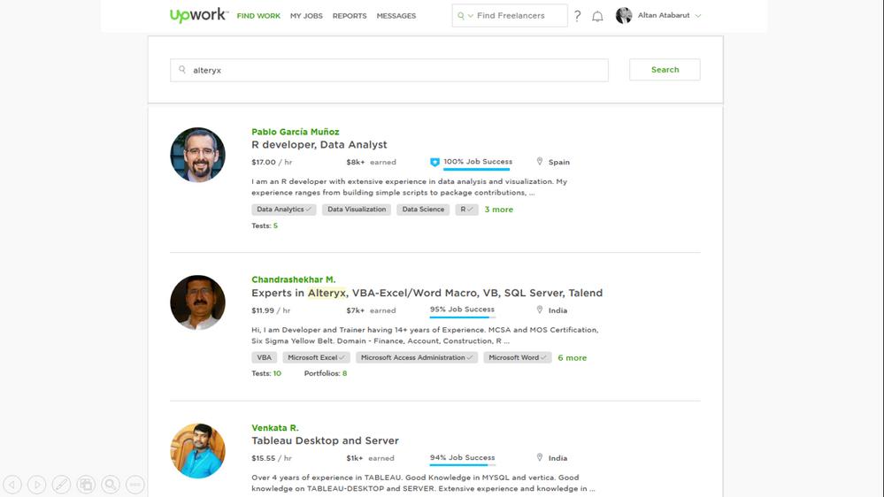 Networking / Job Board - Alteryx Community