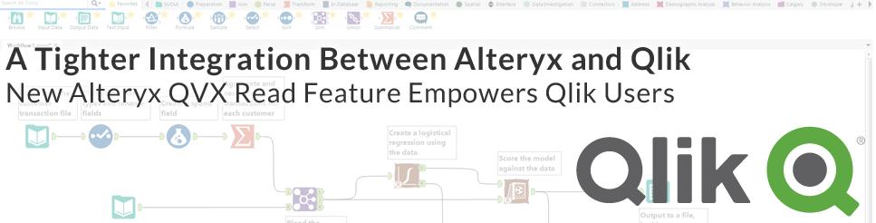 A Tighter Integration Between Alteryx and Qlik