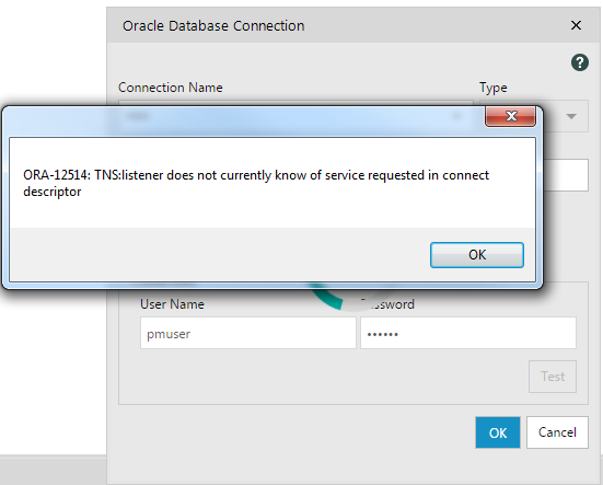 Connecting to Oracle | Alteryx 11 0