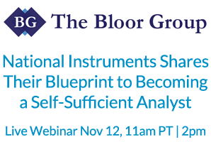 National Instruments Shares Their Blueprint to Becoming a Self-Sufficient Analyst
