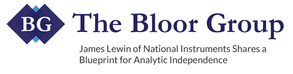 James Lewin of National Instruments Shares a Blueprint for Analytic Independence