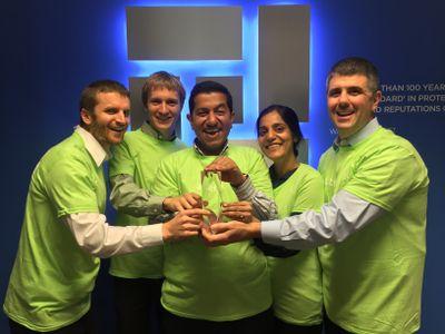 MedPro with Server Award.JPG