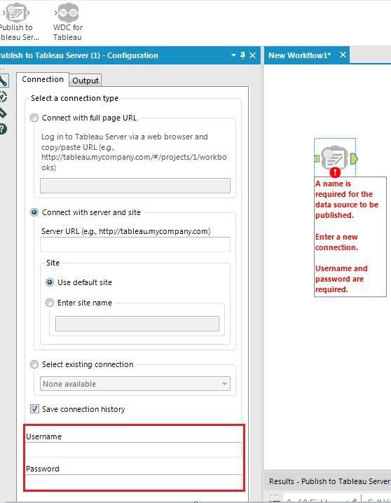 Tableau server authentication