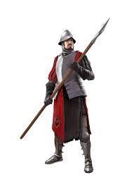 A Spear Man....