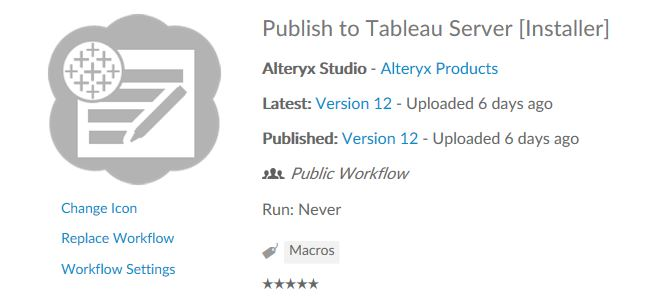 Publish Data Sources to Tableau with Alteryx 10 1 - Alteryx