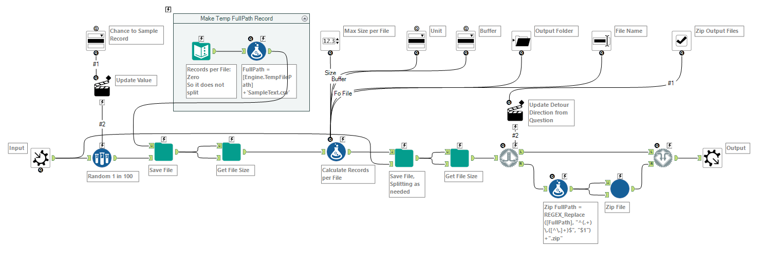 Splitting the output file into n smaller subfiles    - Alteryx Community