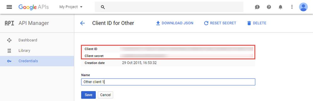 Google API client ID et secret .png