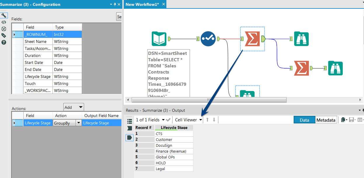 Solved: Unable to read-in SmartSheet Data - Alteryx Community