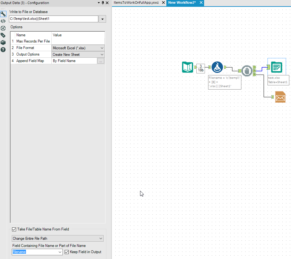Solved: Attach a dynamic named excel file in Email tool